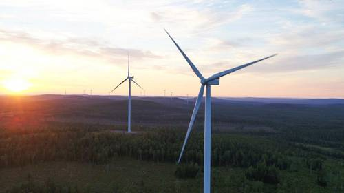 Wind energy in Finland, OX2's third-biggest wind farm