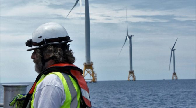 A novice's take on the Offshore WINDPOWER Conference