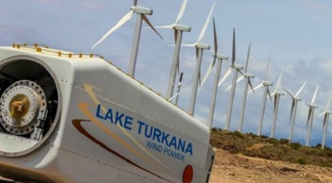 Kenya's Lake Turkana Wind farm to be connected to the grid