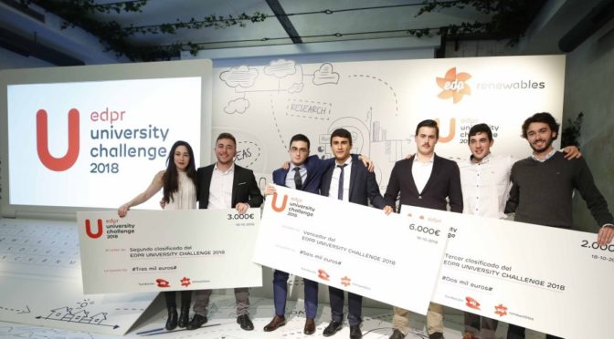 EDP Renewables presents the tenth edition of its University Challenge in Spain