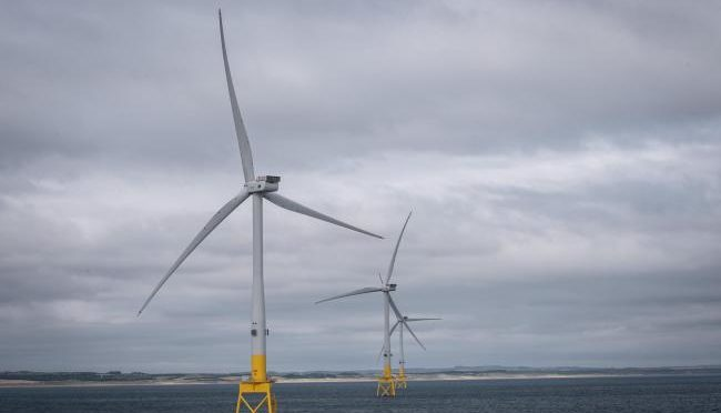 Wind turbines generated 98% of October electricity demand in Scotland