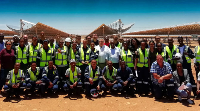 South Africa celebrates 100MW Concentrated Solar Power Ilanga 1 grid-connected plant