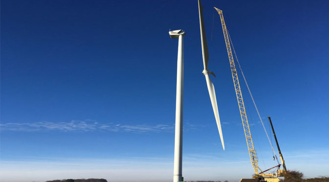 Wind energy in France: EDF Renewables commissions the 27 MW Les Taillades wind farm in the Lozère department