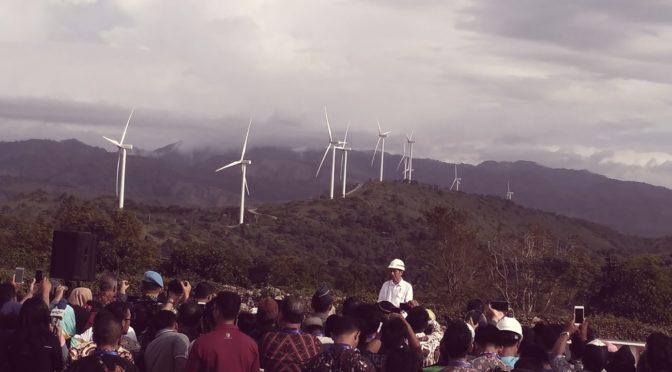 Indonesia has the potential to generate 788,000 megawatts (MW) of power from renewable energy sources such as wind power, solar, tidal, and geothermal