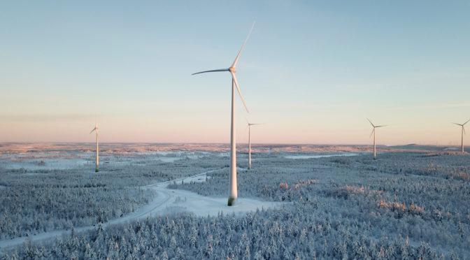 ENERCON installs Swedish wind energy project Ersträsk