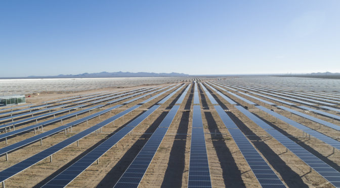 Acciona starts the construction of its second photovoltaic plant in Atacama (Chile)