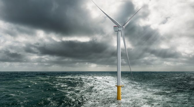 Siemens Gamesa launches 10 MW offshore wind turbine; annual energy production (AEP) increase of 30%