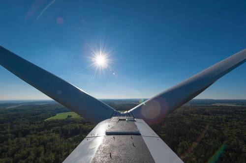 Wind energy in the Netherlands: Nordex wind turbines for a wind farm