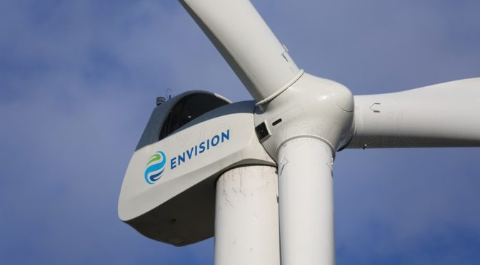 Envision Group's Wind Turbine Installed Capacity Reaches 5GW in 2018, a Year-on-Year Increase of Over 50%