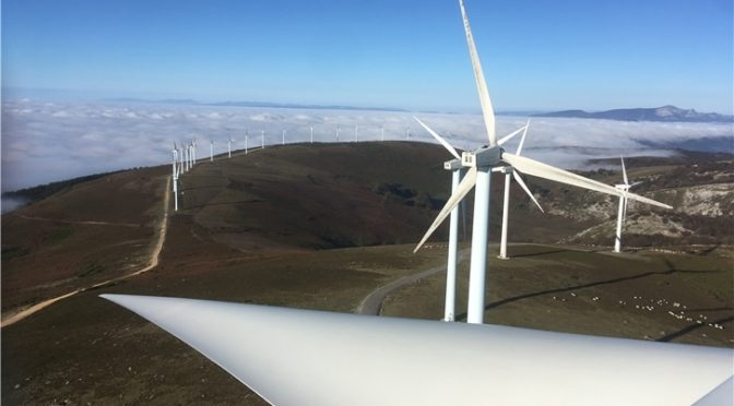 Iberdrola launches the Cavar Complex wind energy project to boost its investment in wind power in Spain