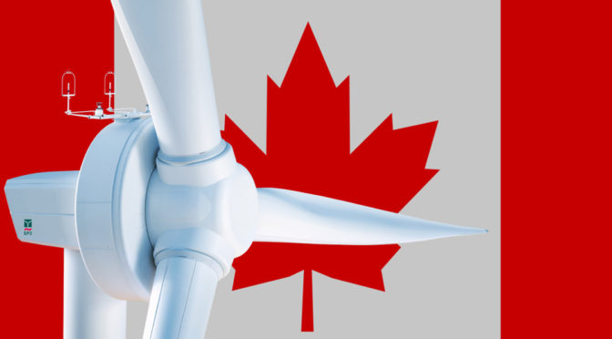 ENERCON signs 345 MW wind energy agreement for Canadian wind power projects