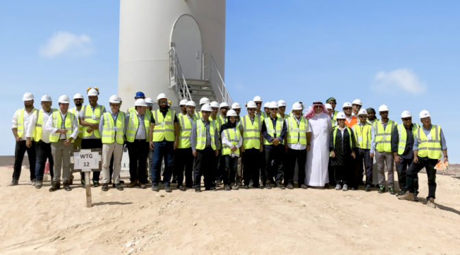 Progress made on 50 MW wind farm in Oman
