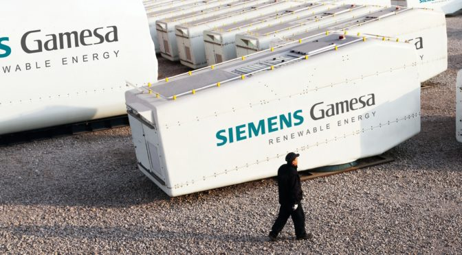 First wind energy order for 200 MW in China for the Siemens Gamesa 4.X wind turbines