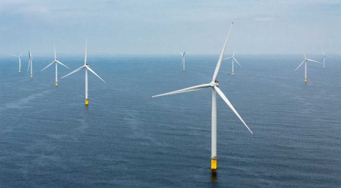 Ørsted and Northumbrian Water Group sign UK's first Offshore Wind Energy PPA