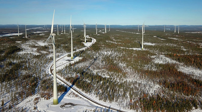 Sweden set for 2.3 GW wind power in 2019