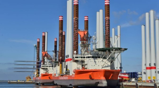 Fred Olsen secures contract for Taiwanese offshore wind farm