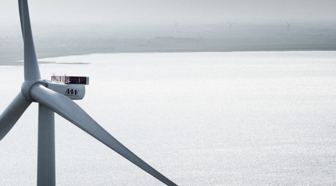 MHI Vestas To Supply Five V164-9.5 MW Wind Turbines for Kincardine Floating Offshore Wind Farm in Scotland