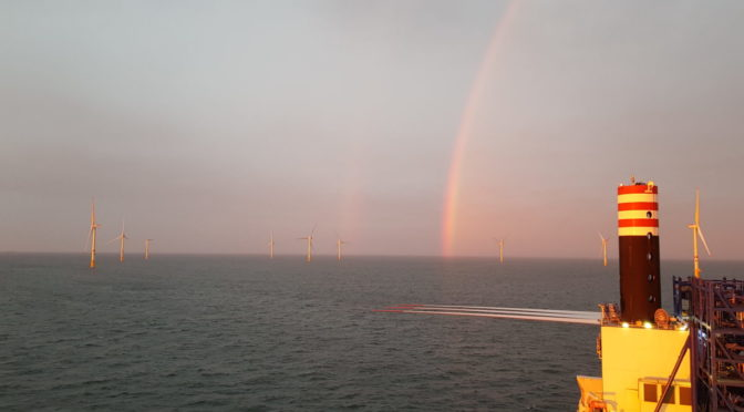 MHI Vestas Installs Norther Wind Turbines in Record Time