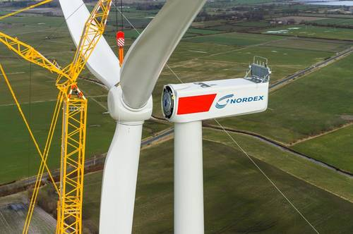 Nordex obtains wind power order for 93 MW wind farm from Spain