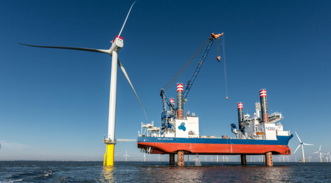 Siemens Gamesa installs Arkona offshore wind power plant in Germany