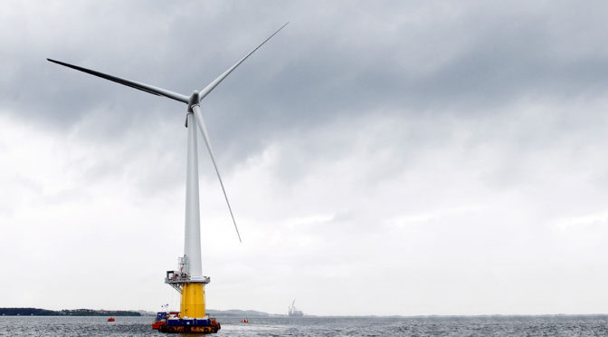 France now the only Member State with floating wind energy in its NECP draft