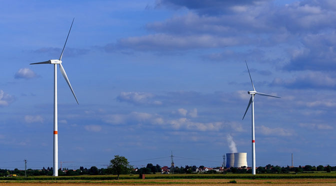 Wind energy tells nuclear: it's time to electrify Europe's energy mix