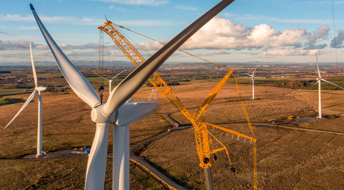 How working in partnership can help the recyclability of wind turbines