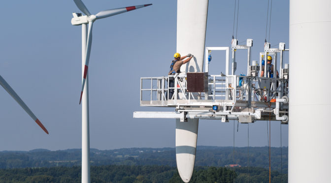 300,000-strong wind energy community mobilises for European Elections