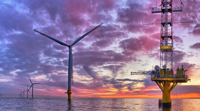 Wind energy in Spain: first offshore wind farm project