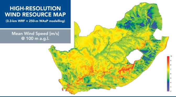 Wind Atlas for South Africa launched