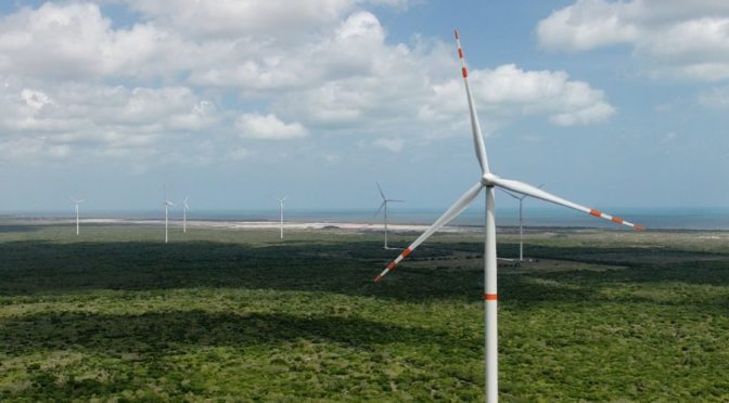 Wind power in Mexico: third stage of the ENGIE Tres Mesas wind farm