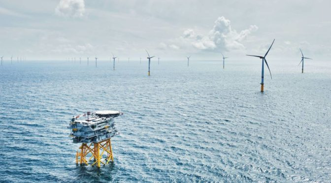 Construction of Kriegers Flak Offshore Wind Farm has started