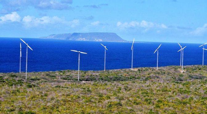 Wind energy in Guadeloupe: Renews Wind Farm