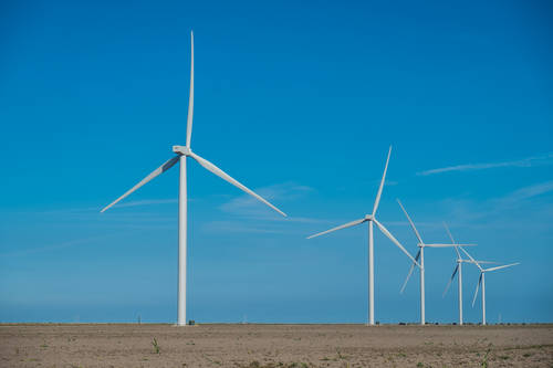 Wind energy in Texas: Nordex 100 wind turbines for Engie'e wind farm