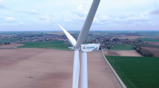 Elawan Energy launches its sixth wind farm in Belgium