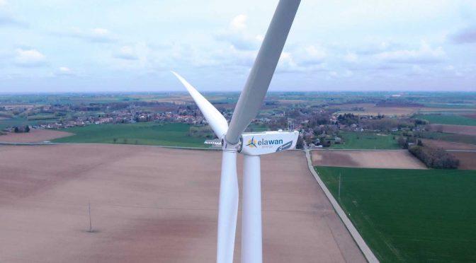 Elawan Energy launches its sixth wind farm in Belgium