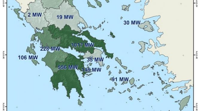 Greece hits 3 GW wind energy milestone
