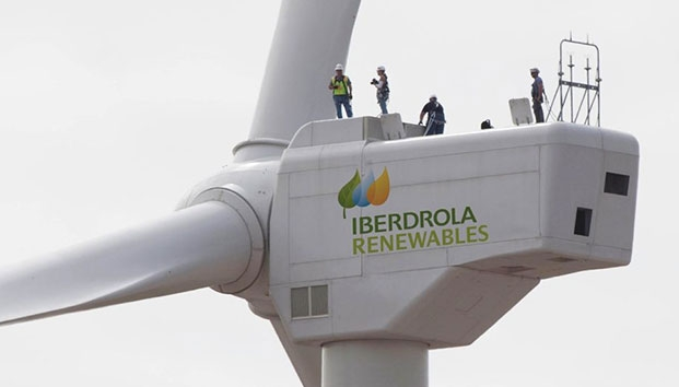 Offshore wind power:  Iberdrola East Anglia One wind farm