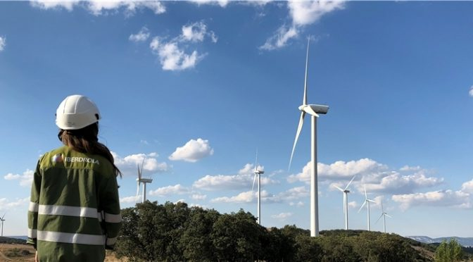 Wind energy in Spain: Iberdrola and Caja Rural de Soria have joined forces to develop the Buniel wind farm