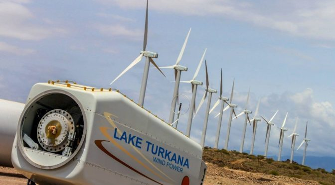 Kenya inaugurates the largest wind farm in all of Africa