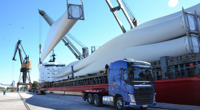 Wind energy in Argentina: 208 wind turbines entered the bay in two years