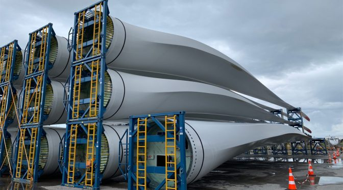 Wind power in Brazil, 2,000 wind turbine blades sent in 2019 from Pecém