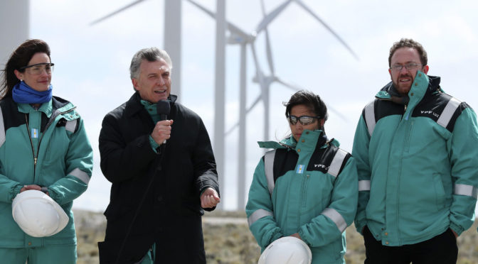 Only 5% of Argentina's electricity comes from solar, wind energy