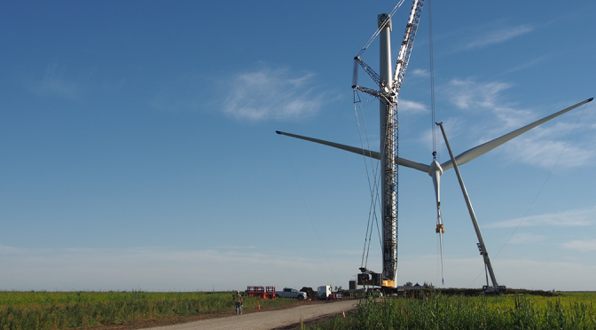 Wind energy in Aragon, GES builds 3 114 MW wind farms