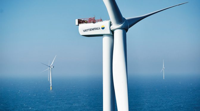 Vattenfall inaugurates Scandinavia's largest offshore wind farm