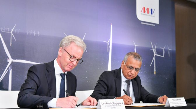 MHI Vestas Signs Contract in Taiwan for Local Supply of wind turbines