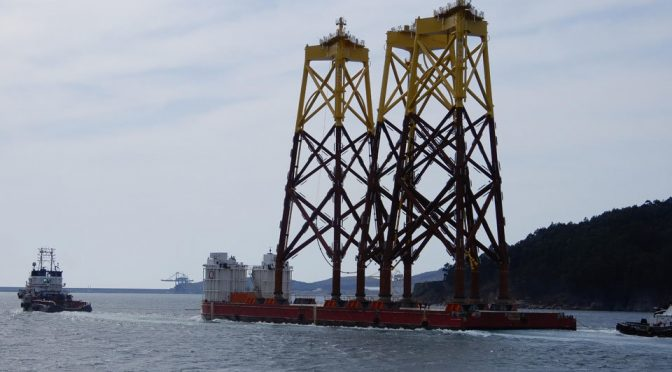 Navantia consolidates in offshore wind energy with another 62 jackets
