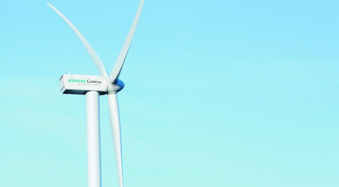 Siemens Gamesa supplies wind turbines to Vietnam's wind energy