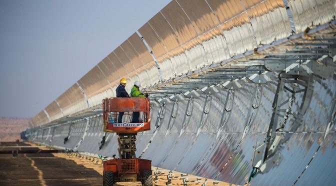Israel inaugurates Negev concentrated solar power plant