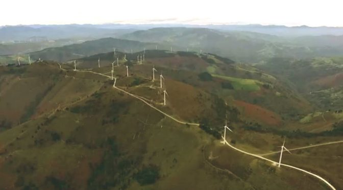 Wind energy in Asturias (Spain): Two companies request the installation of nine wind farms